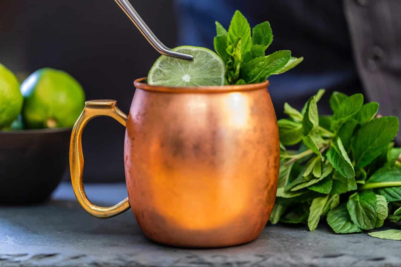 Keto Moscow Mule Recipe