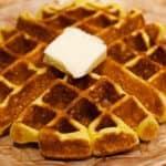 Keto Belgian Waffle Recipe Wide