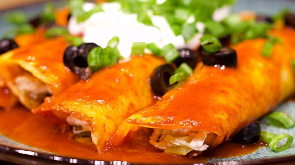 Keto Chicken Enchilada Recipe Close U