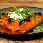 Keto Chicken Enchilada Recipe Wide