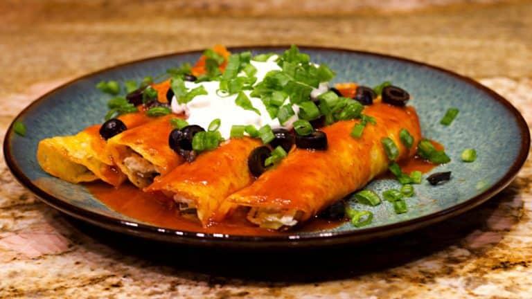 Keto Chicken Enchilada Recipe Wide