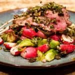 Keto Chimichurri Rack of Lamb Wide