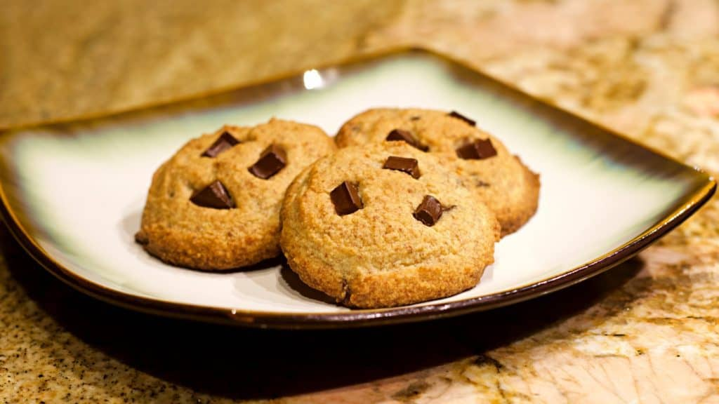 Keto Chocolate Chip Cookies Recipe Wide