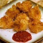Keto Coconut Shrimp Wide