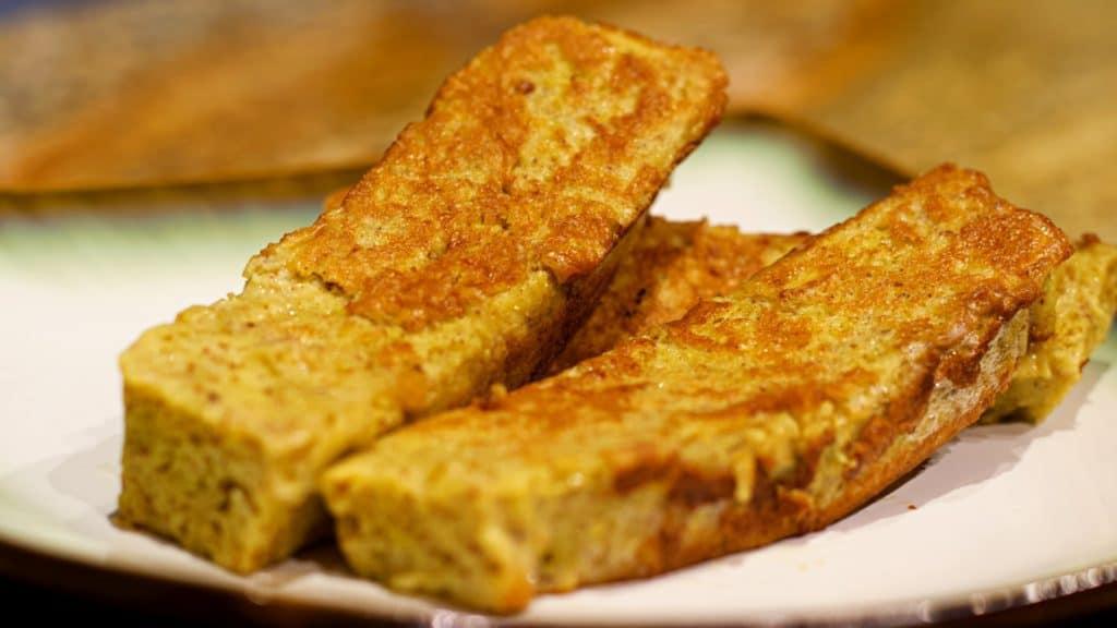 Keto French Toast Sticks Recipe Macro Wide
