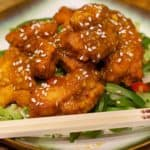 Keto Orange Chicken Recipe Wide