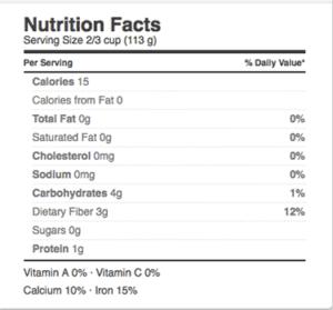 Nasoya Shirataki Noodles Nutrition Facts