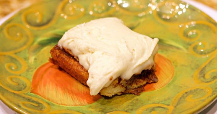 Keto Cinnamon Roll Recipe
