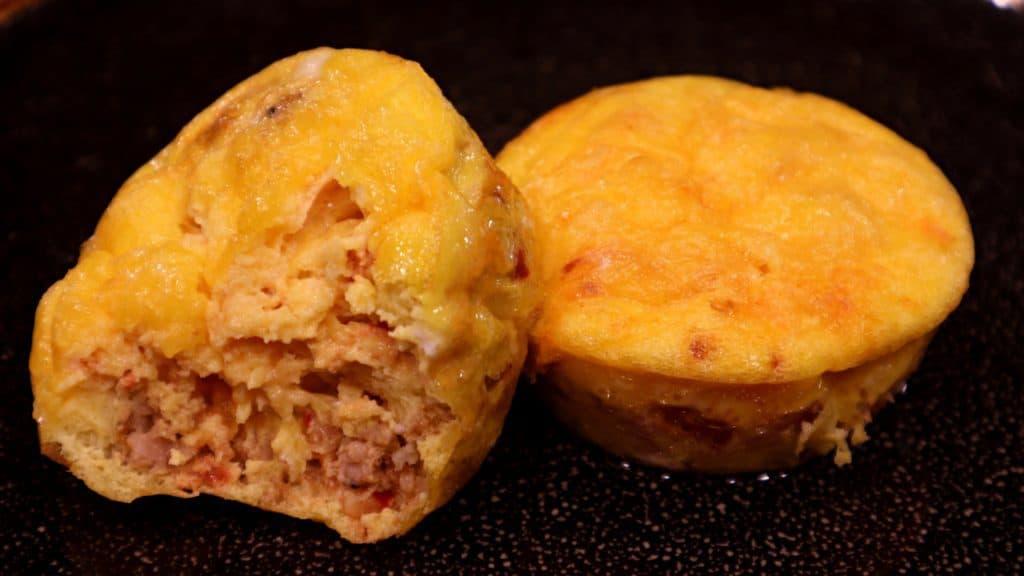 Keto Omelette Muffin Bite