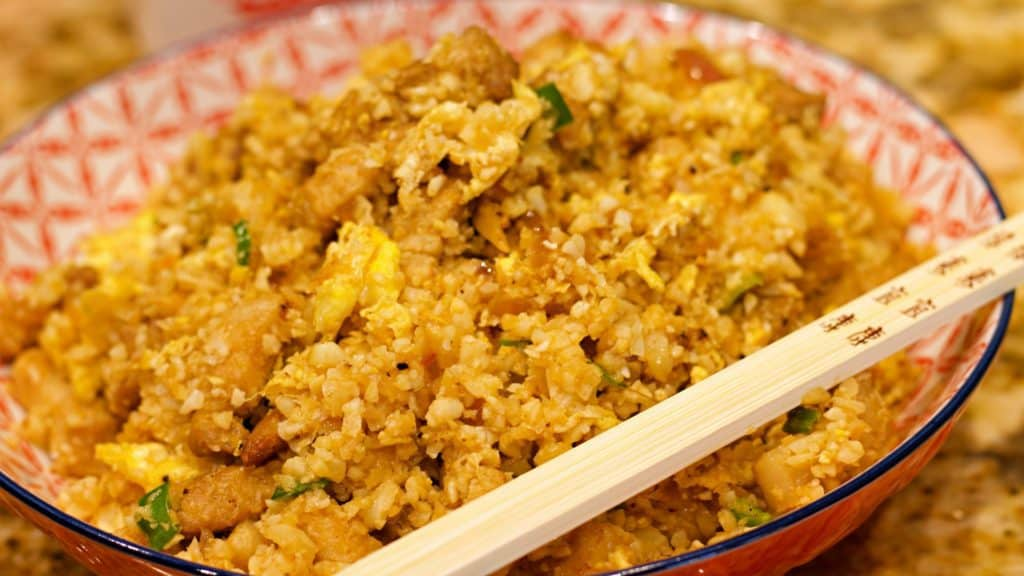 Keto Pork Belly Fried Rice Wide Close