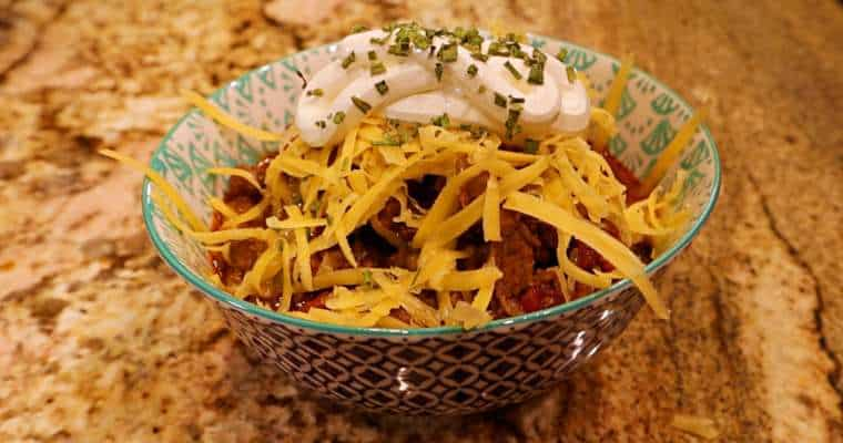 Keto Instant Pot Chili Recipe