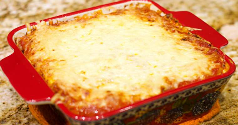Keto Low Carb Lasagna Recipe