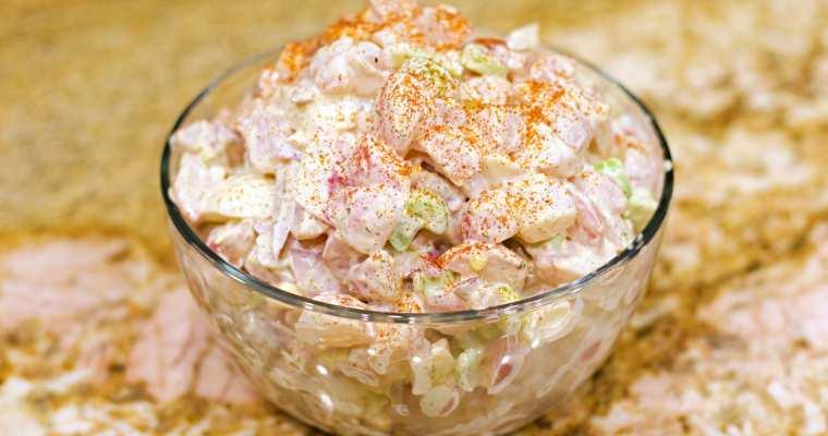 Keto Low Carb 'Potato' Salad Recipe