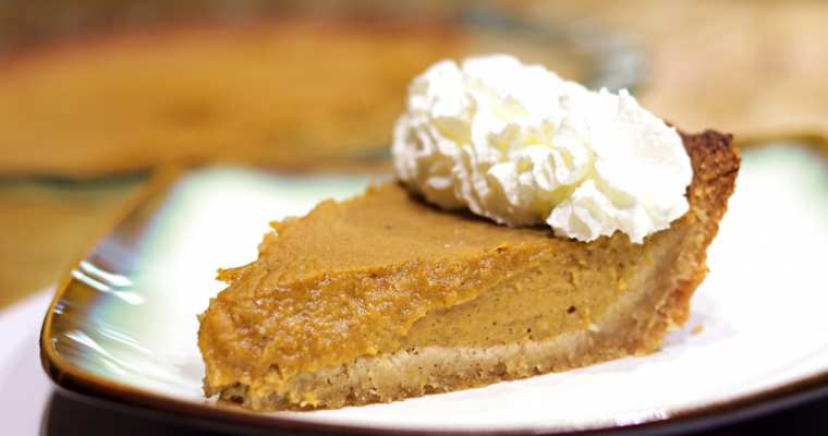 Keto Pumpkin Pie Recipe