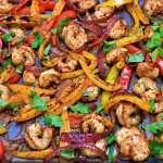 Keto Sheet Pan Shrimp Recipe