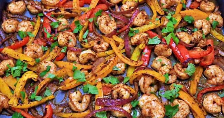 Keto Sheet Pan Shrimp Recipe