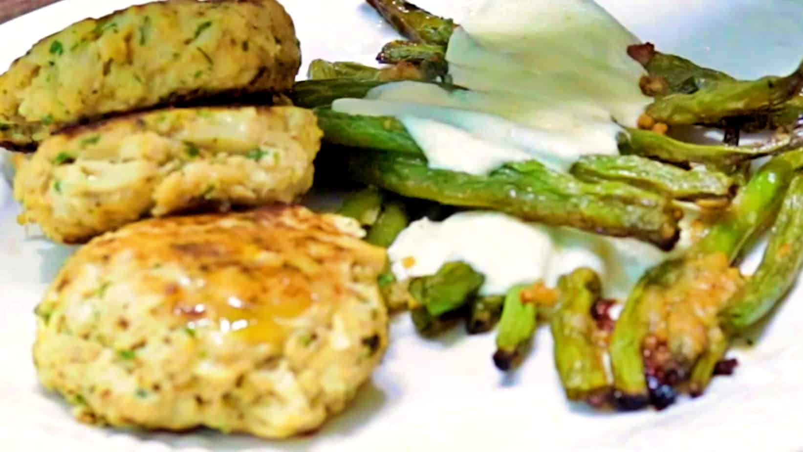 Keto Crab Cakes Recipe