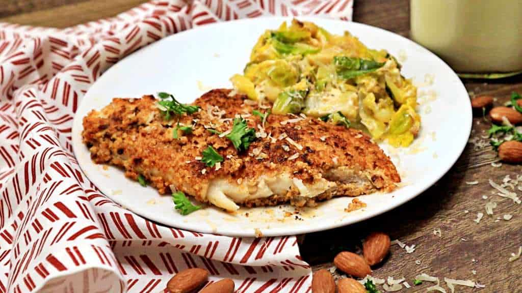 Keto Almond Crusted Fish Bite