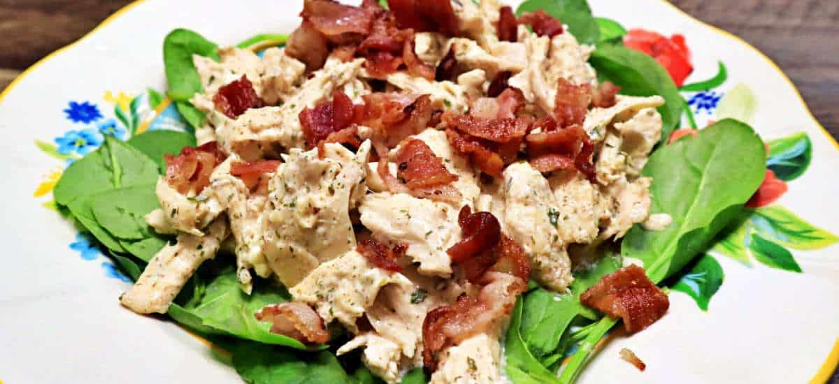 Keto Bacon Ranch Chicken Recipe