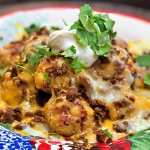 Keto Loaded Nacho Tots Featured Image