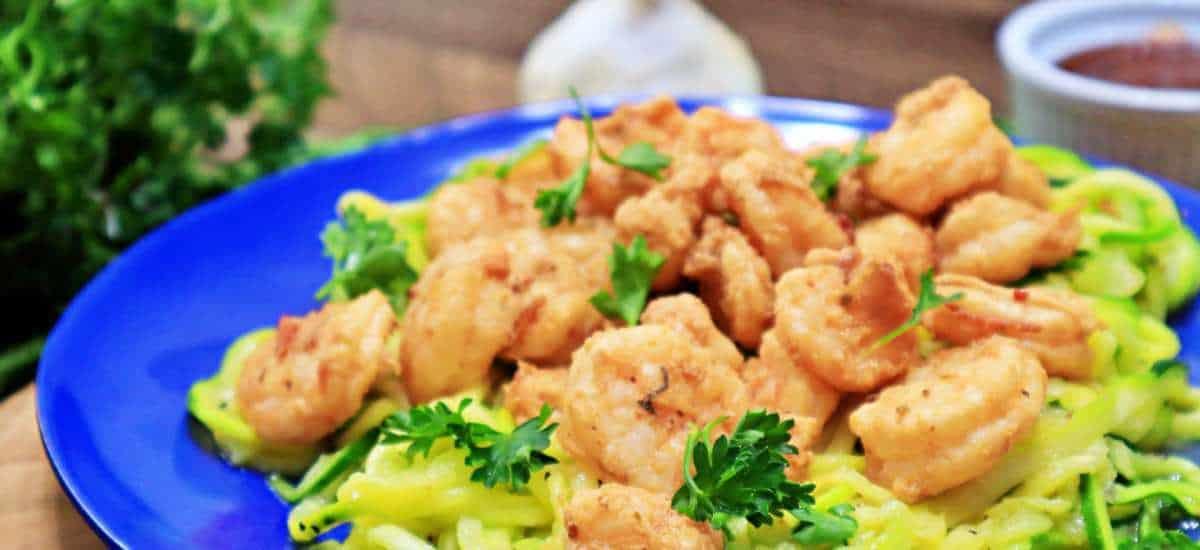 Keto Zesty Shrimp Zoodles Recipe