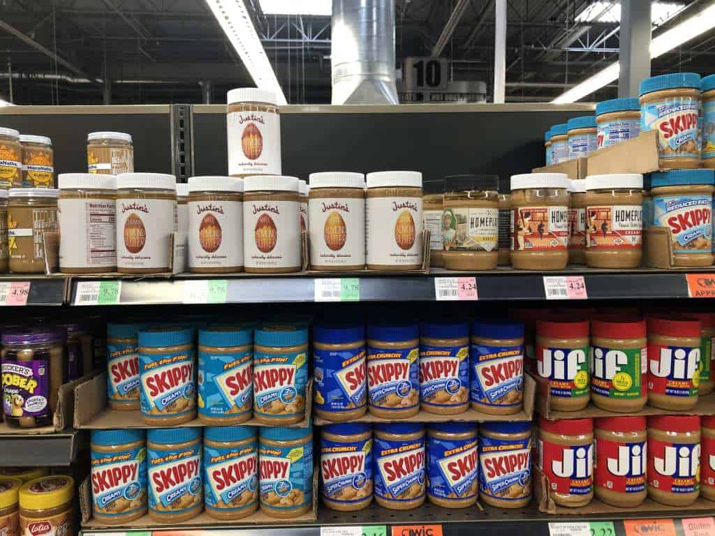 Keto Shopping at Winco Foods Almond Butter