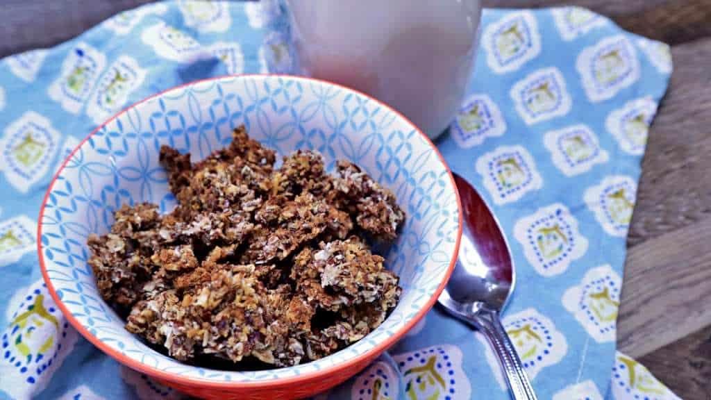 Keto Granola Cereal