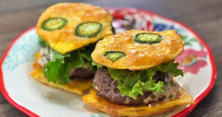 Keto Jalapeno Popper Stuffed Burger Recipe