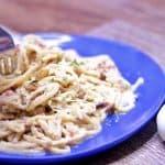 Keto Pasta Carbonara Recipe