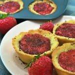 Keto Mini Strawberry Pies Recipe