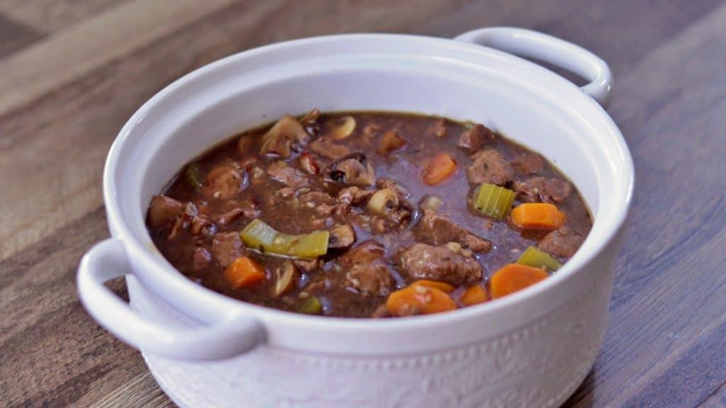 Keto Cheesy Beef Stew