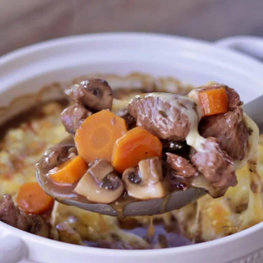 Keto Cheesy Beef Stew Recipe