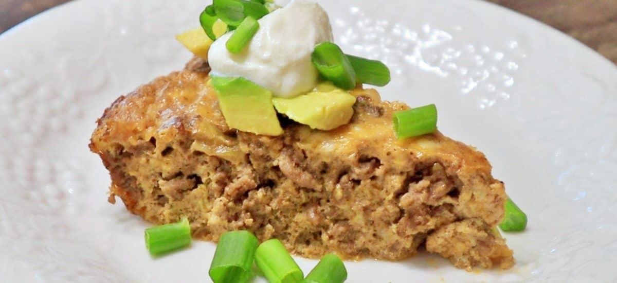 Keto Taco Pie Recipe