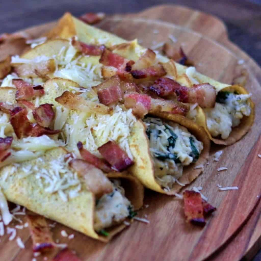Bacon Cheese Blintzes Thumbnail