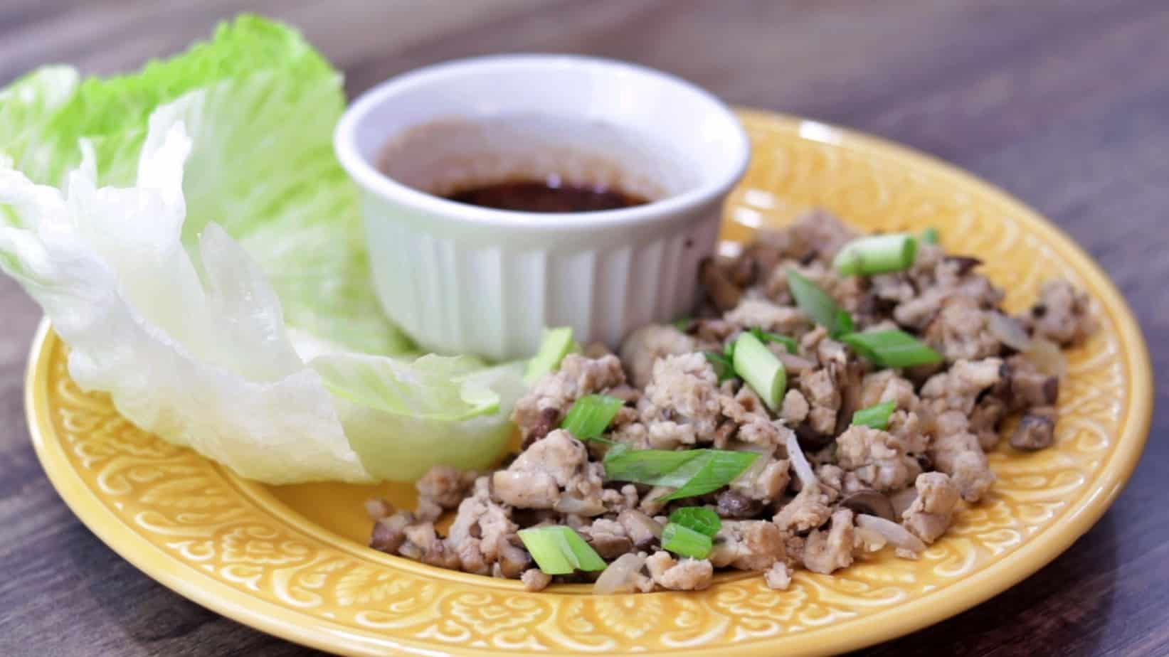 Keto Chicken Lettuce Wraps Recipe