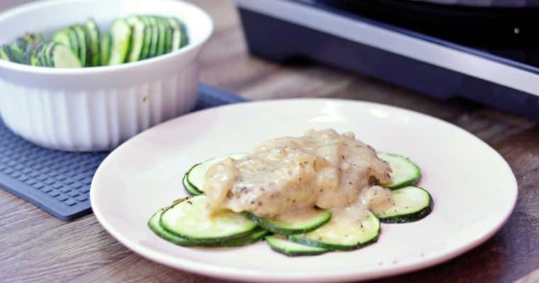 Keto Smothered Pork Chop Recipe