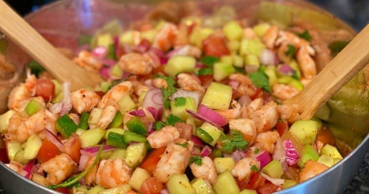 Keto Shrimp Ceviche Recipe